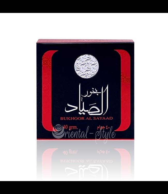 Ard Al Zaafaran Perfumes  Bakhoor Al Sayaad Incense (40g)