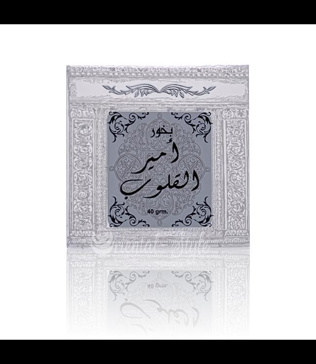 Ard Al Zaafaran Perfumes  Bakhoor Ameer Al Quloob Incense Ard Al Zaafaran (40g)