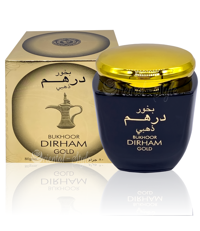 Ard Al Zaafaran Perfumes  Bakhoor Dirham Gold Incense 80g
