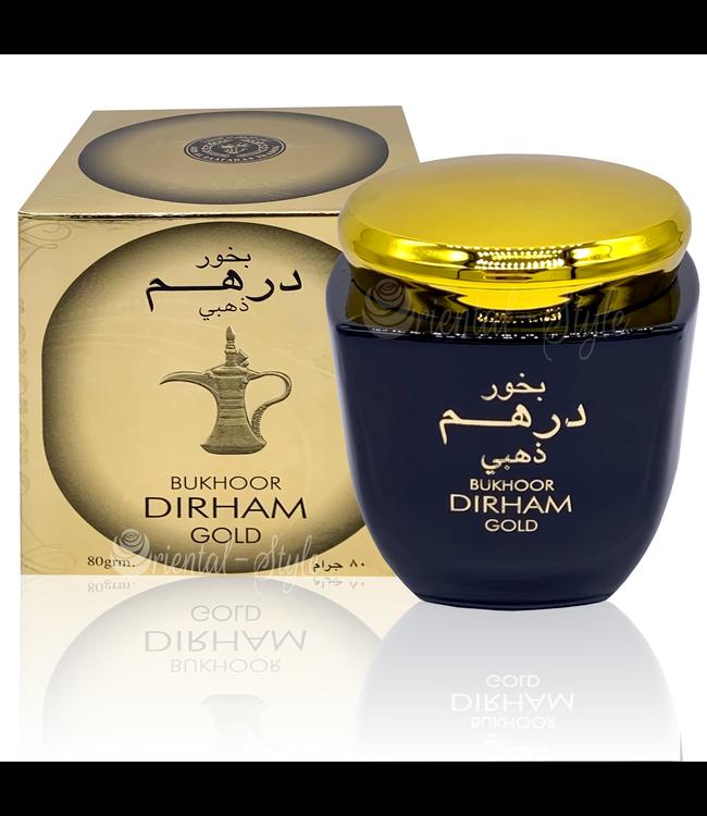 Ard Al Zaafaran Perfumes  Bakhoor Dirham Gold Räucherwerk 80g