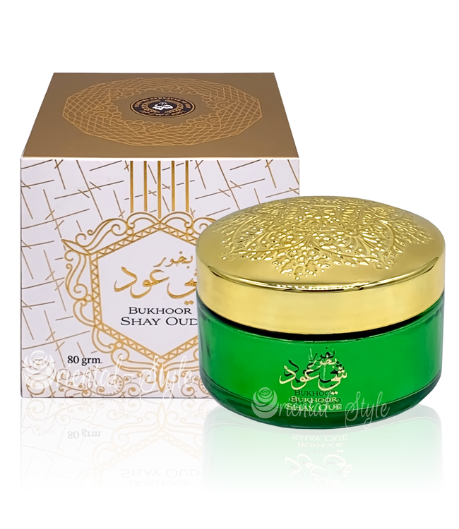 Ard Al Zaafaran Perfumes  Bakhoor Shay Oud Incense 80g