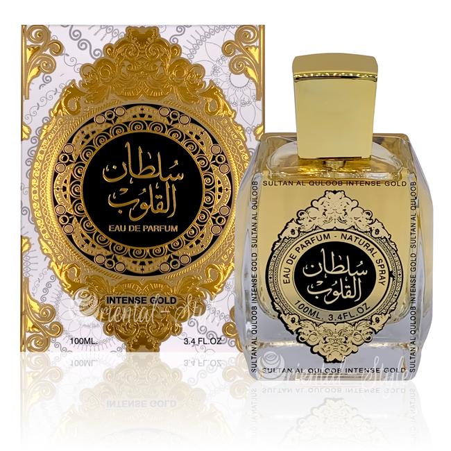 Suroori Sultan Al Quloob Intense Gold Eau de Parfum 100ml Suroori