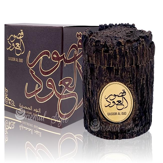 Ard Al Zaafaran Perfumes  Qasoor Al Oud Bukhoor Exclusive Oud (40g)