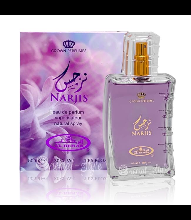 Al Rehab  Narjis Eau de Parfum 50ml Al Rehab Perfume Spray