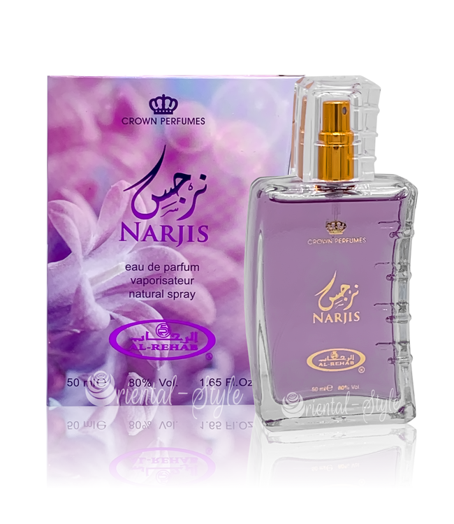 Al Rehab  Narjis Eau de Parfum 50ml Perfume Spray