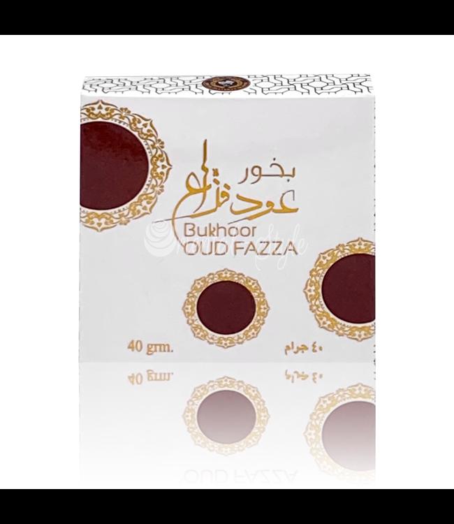 Ard Al Zaafaran Perfumes  Bakhoor Oud Fazza Incense (40g)