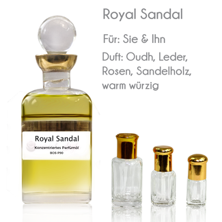 Sultan Essancy Perfume Oil Royal Sandal