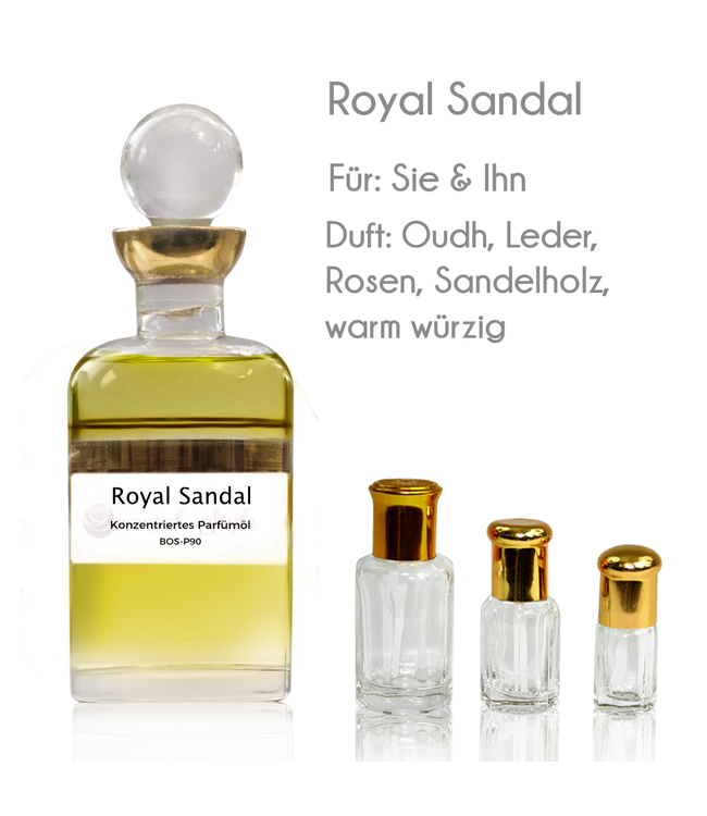 Sultan Essancy Concentrated perfume oil Royal Sandal Perfume Free From alcohol