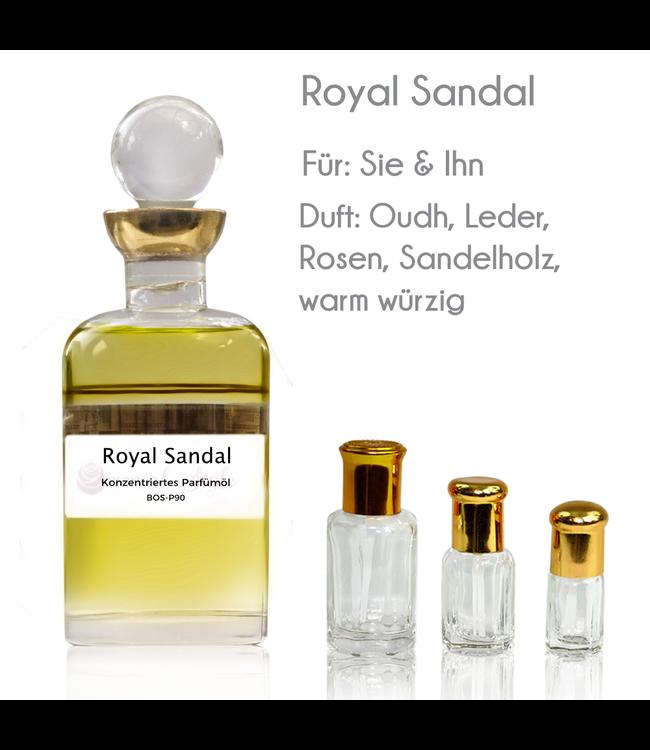 Sultan Essancy Royal Sandal Parfümöl - Parfüm ohne Alkohol