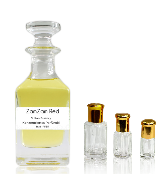 Sultan Essancy Parfümöl ZamZam Red - Parfüm ohne Alkohol
