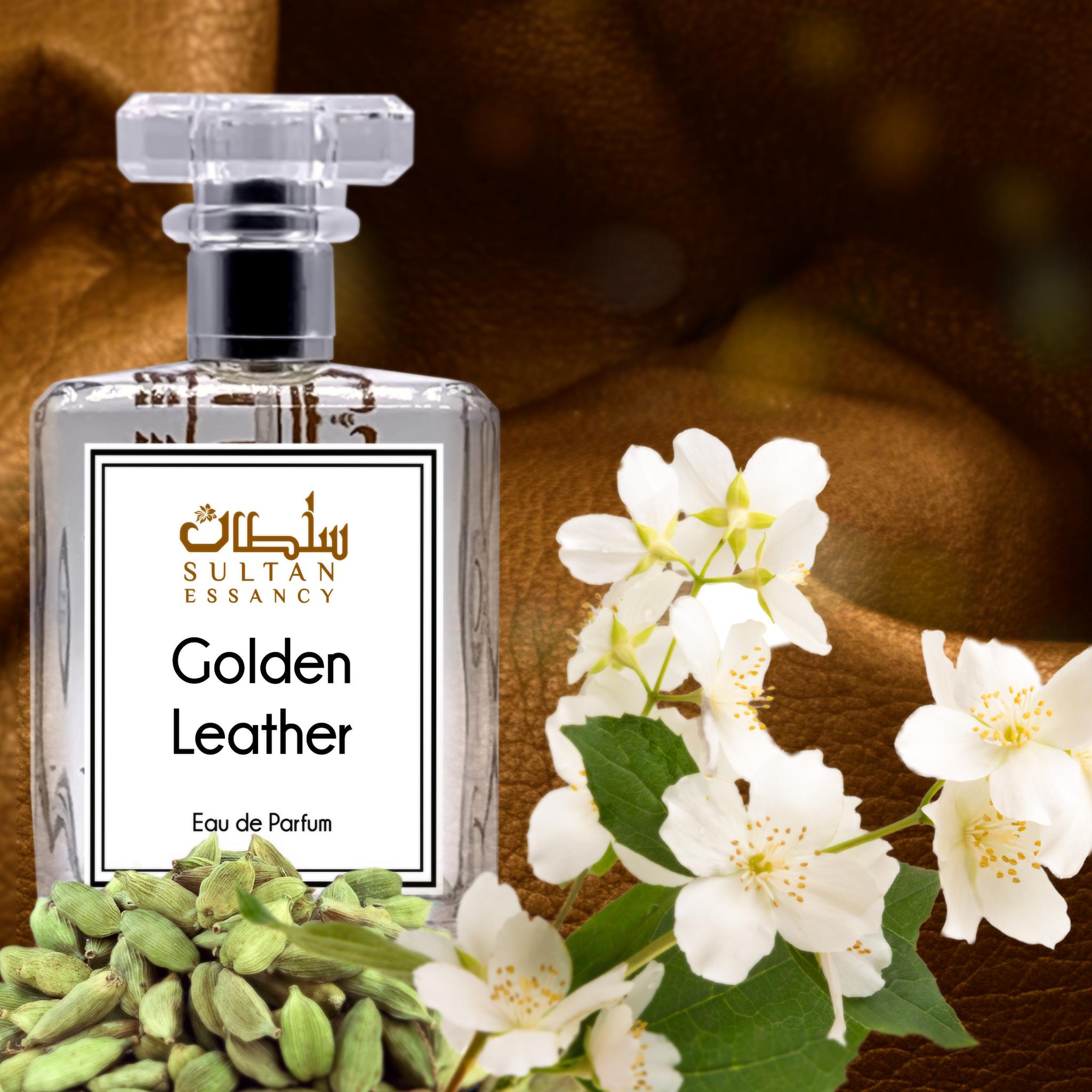 Parfüm Golden Leather Eau de Perfume von Sultan Essancy Unisex