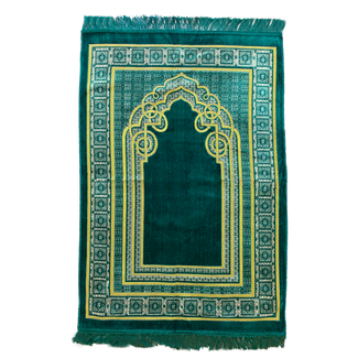 Prayer Mat Seccade in Green
