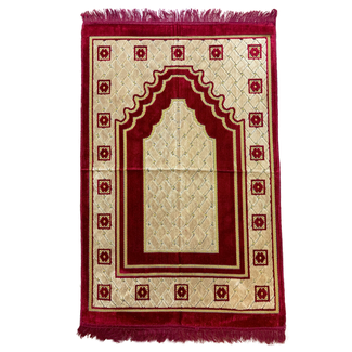 Prayer Mat Seccade in Red