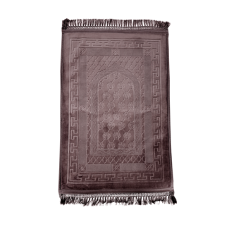 Prayer Mat Seccade Foam Padded - Brown