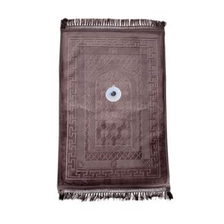 Gebetsteppich Seccade Gepolstert Kompass - Braun