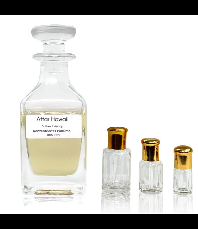 Sultan Essancy Perfume oil Attar Hawaii Sultan Essancy