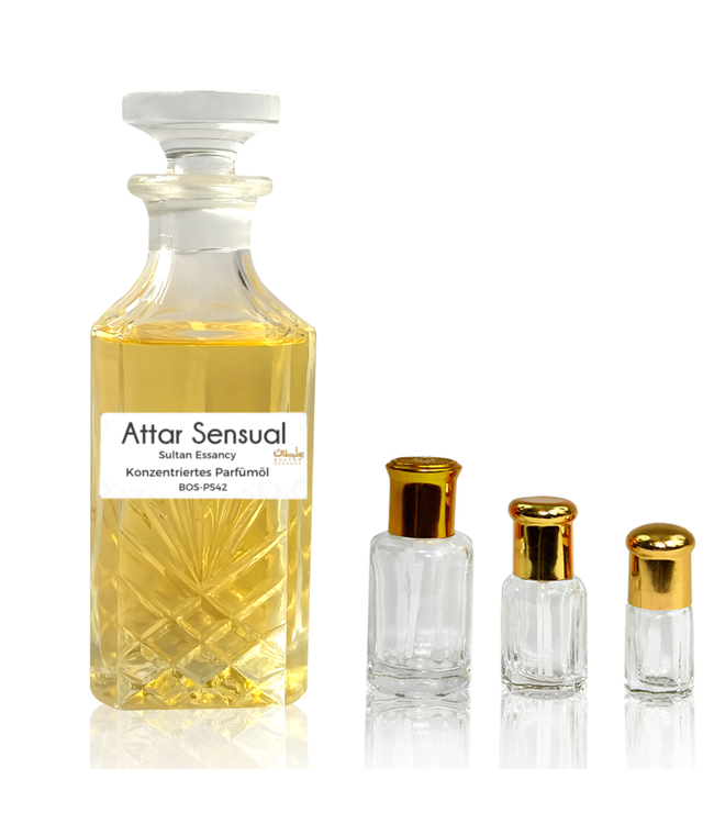 Concentrated perfume oil Attar Sensual - Perfume free from alcohol