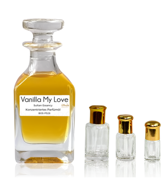 Sultan Essancy Perfume oil Vanilla My Love Sultan Essancy