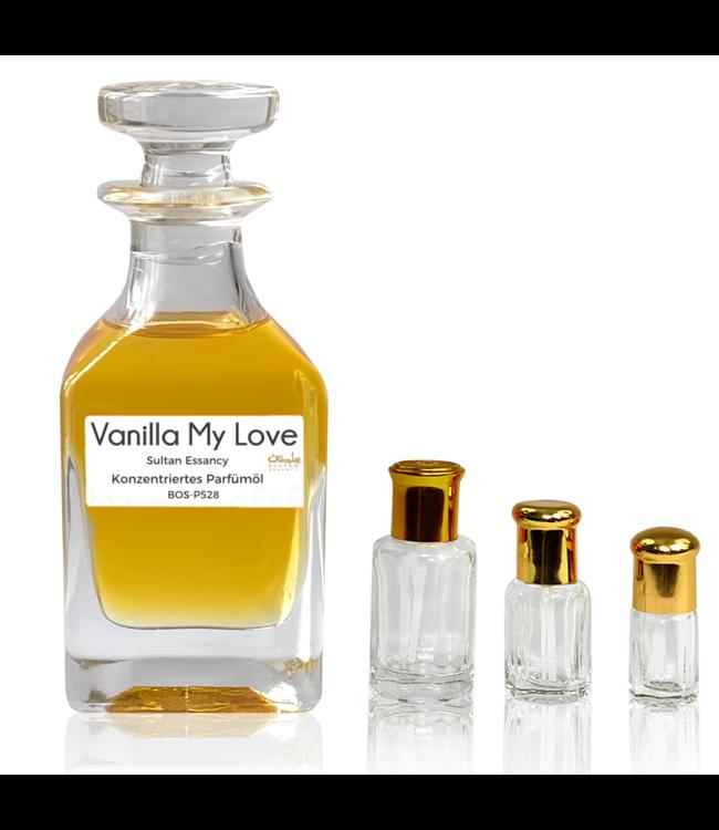 Sultan Essancy Parfümöl Vanilla My Love - Attar Parfüm ohne Alkohol