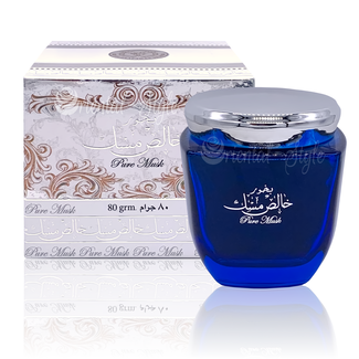 Ard Al Zaafaran Perfumes  Bukhoor Khalis Pure Musk by Ard Al Zaafaran  (80g)