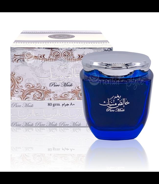 Ard Al Zaafaran Perfumes  Bukhoor Khalis Pure Musk von Ard Al Zaafaran Bakhoor Räucherwerk 80g