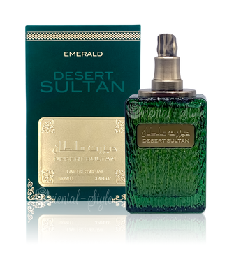 Ard Al Zaafaran Perfumes  Desert Sultan Emerald Eau de Parfum 100ml Ard Al Zaafaran Perfume Spray