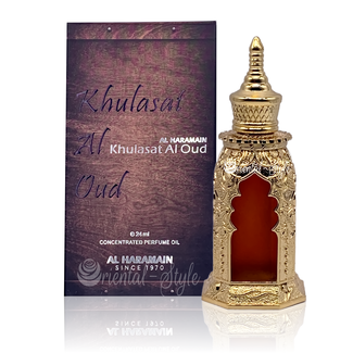 Al Haramain Perfume oil Khulasat Al Oud by Al Haramain 24ml