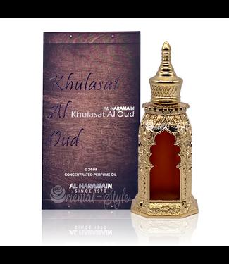 Al Haramain Perfume oil Khulasat Al Oud by Al Haramain 24ml