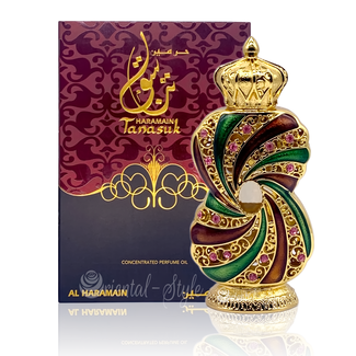 Al Haramain Perfume oil Tanasuk by Al Haramain 12ml