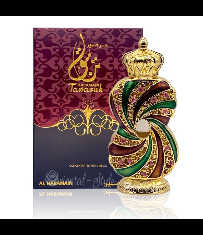 Al Haramain Perfume oil Tanasuk by Al Haramain 12ml Attar Perfume