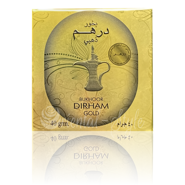 Bakhour Bukhoor Dirham Gold von Ard Al Zaafaran
