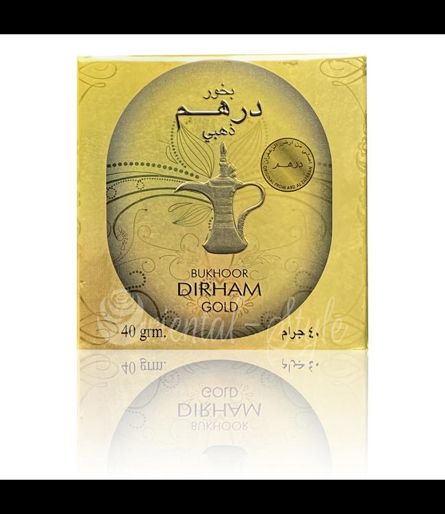 Ard Al Zaafaran Perfumes  Bakhoor Bukhoor Dirham Gold Räucherwerk (40g)