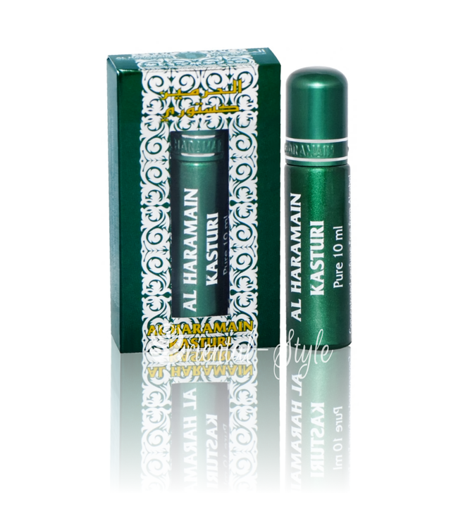 Al Haramain Concentrated Perfume Oil Kasturi - Perfume free from alcohol 10ml