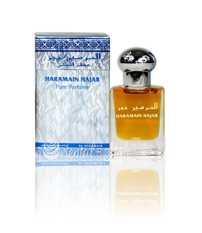 Al Haramain Concentrated Perfume Oil Hajar - Perfume free from alcohol