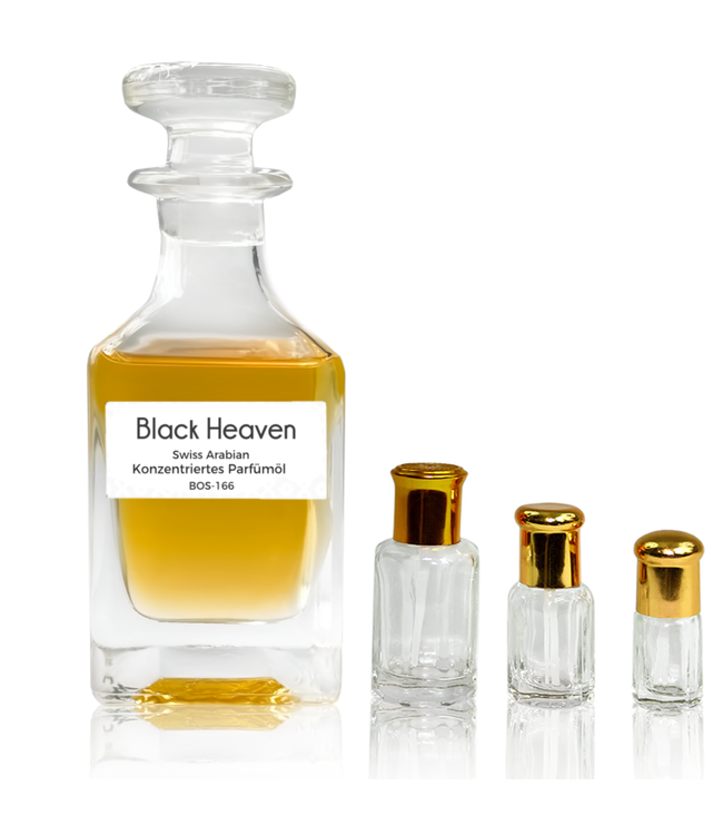 Swiss Arabian Concentrated perfume oil Black Heaven by Swiss Arabian Perfume without alcohol