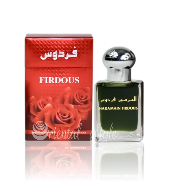 Al Haramain Concentrated Perfume Oil Firdous - Perfume free from alcohol
