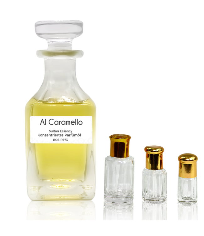 Sultan Essancy Konzentriertes Parfümöl Al Caramello Parfüm ohne Alkohol