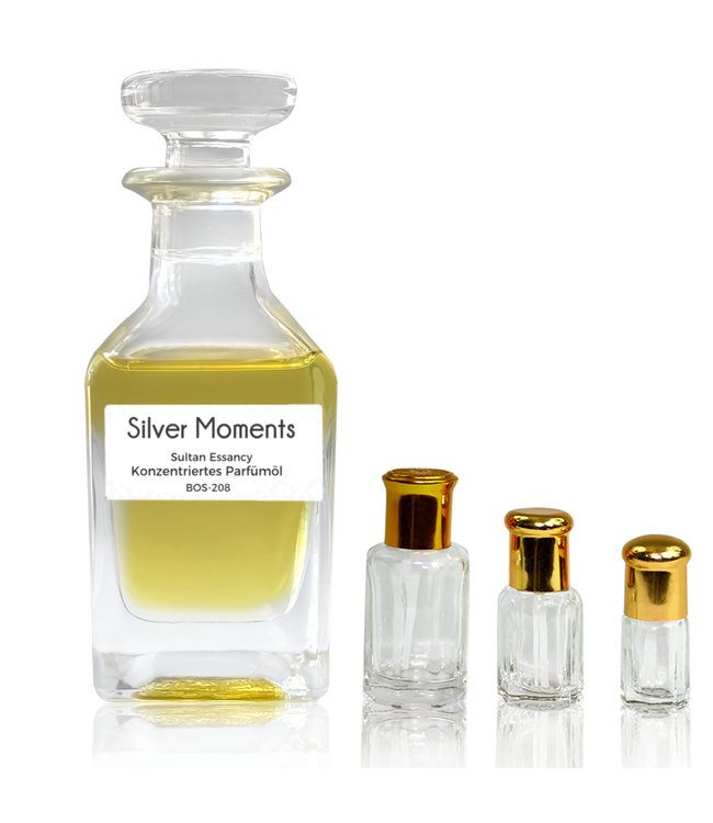 Concentrated perfume oil Silver Moments - Perfume without alcohol