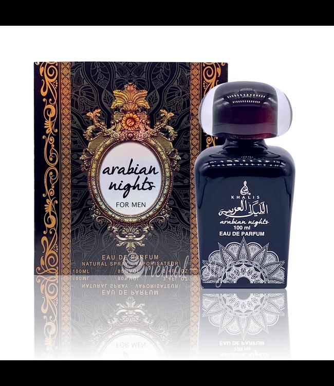 Khalis Arabian Nights Men Eau de Parfum 100ml by Khalis Perfume Spray