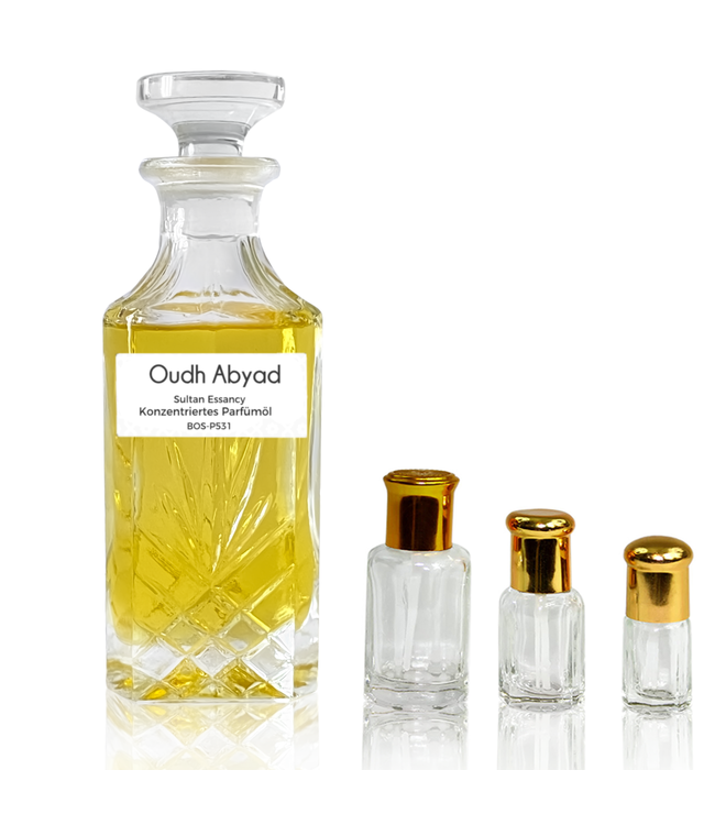 Sultan Essancy Concentrated perfume oil Oudh Abyad - Perfume free from alcohol