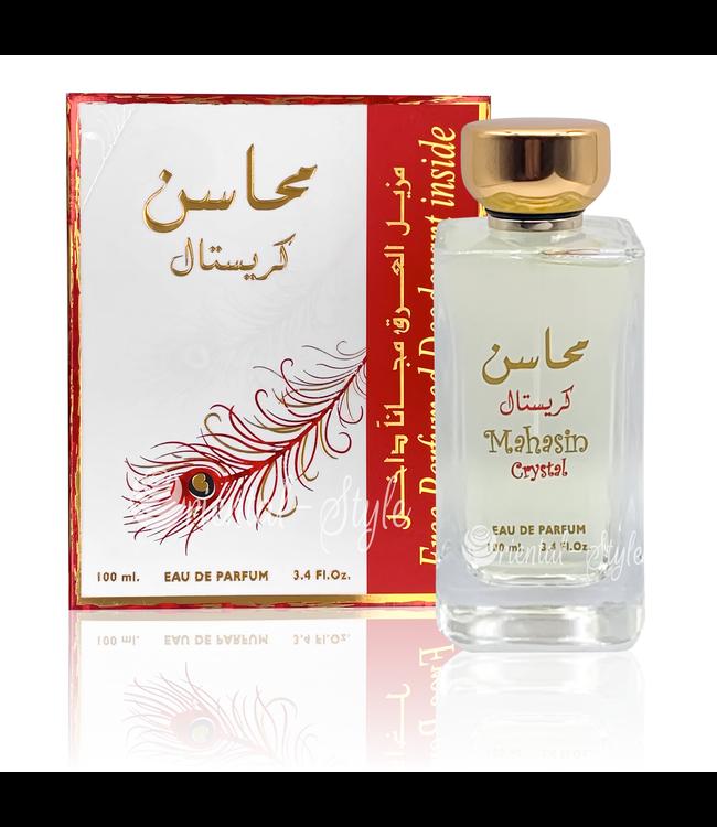Ard Al Zaafaran Perfumes  Perfume Mahasin Crystal Eau de Parfum 100ml Spray
