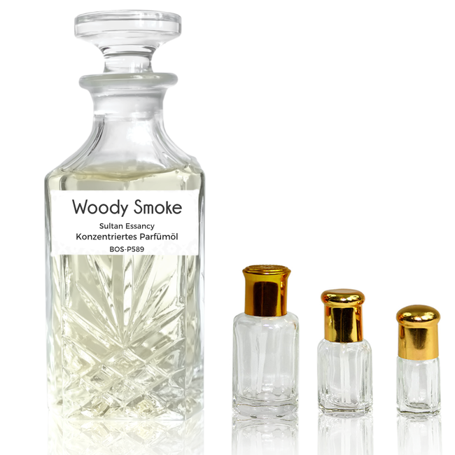Sultan Essancy Perfume oil Woody Smoke Sultan Essancy