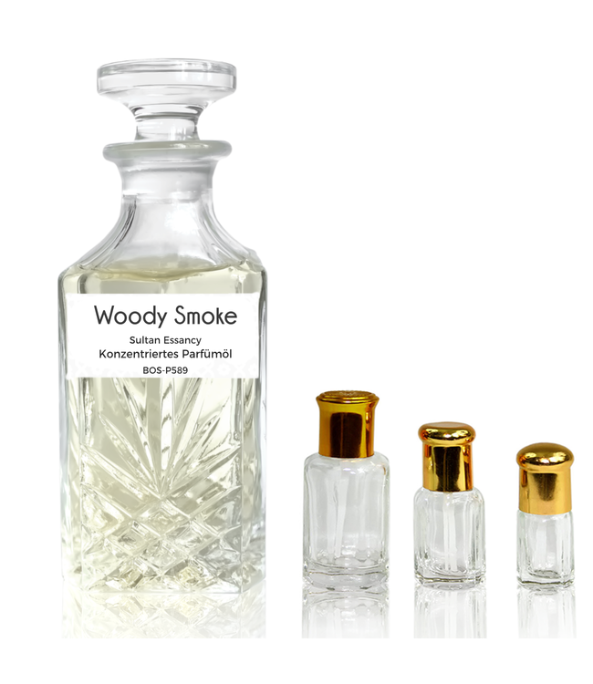 Sultan Essancy Concentrated perfume oil Woody Smoke - Perfume free from alcohol