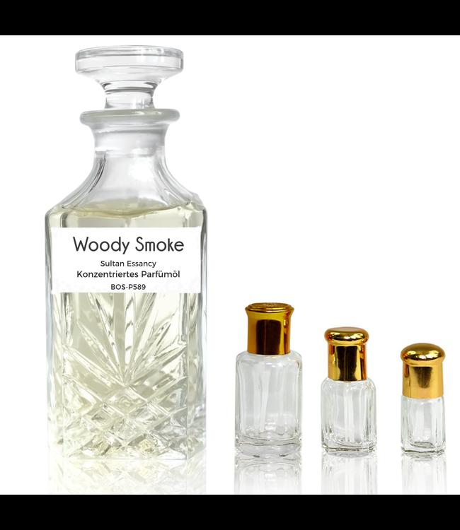 Sultan Essancy Parfümöl Woody Smoke - Attar Parfüm ohne Alkohol