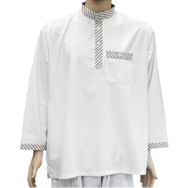 Hakim Yaka - Türkisches Hemd mit Stehkragen