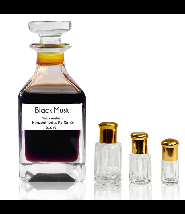 Swiss Arabian Perfume oil Black Musk - Perfume free from alcohol