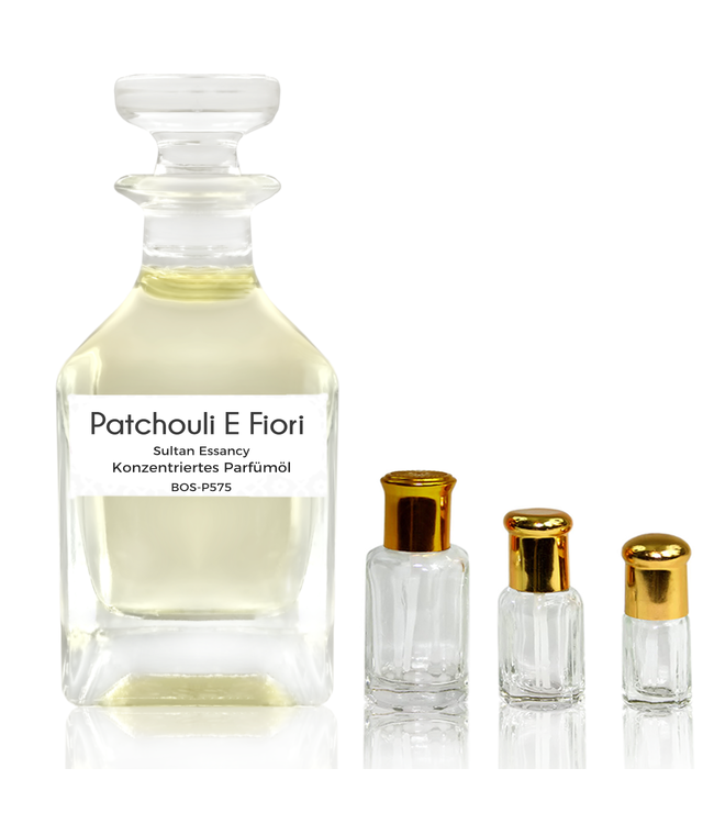 Sultan Essancy Concentrated perfume oil Patchouli E Fiori - Perfume free from alcohol
