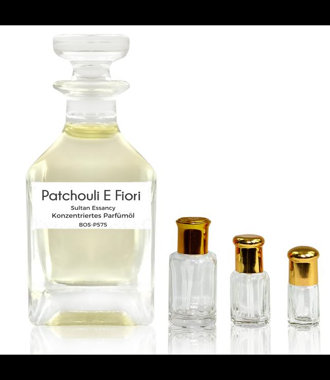 Sultan Essancy Parfümöl Patchouli E Fiori - Attar Parfüm ohne Alkohol