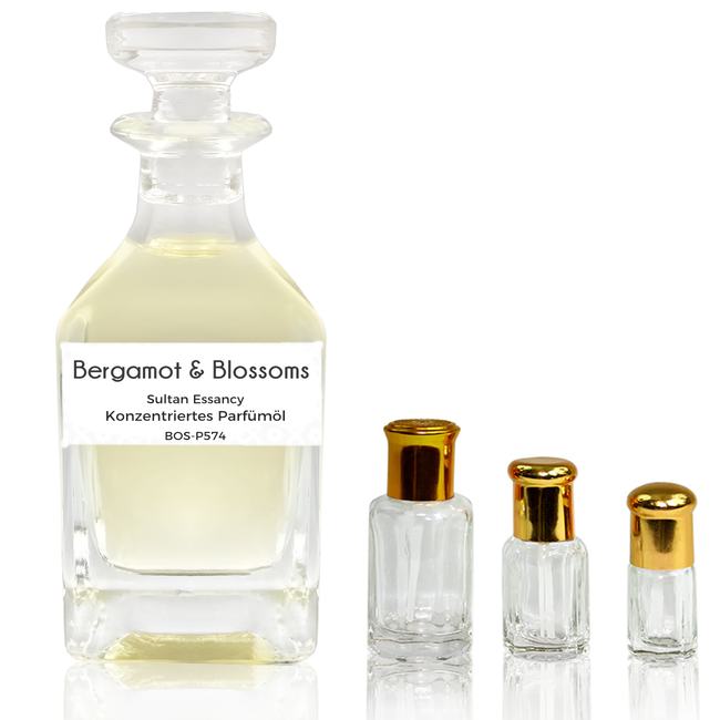 Sultan Essancy Perfume oil Bergamot & Blossoms Sultan Essancy