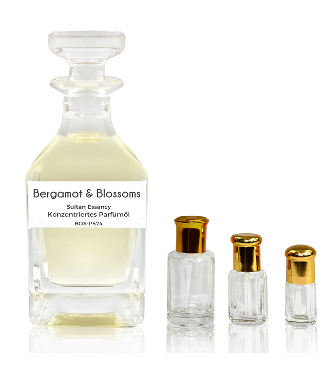 Sultan Essancy Concentrated perfume oil Bergamot & Blossoms - Perfume free from alcohol